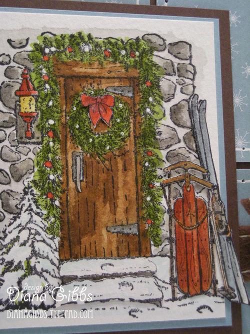 Home for Christmas close up