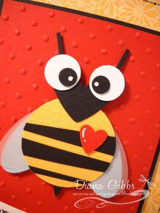 Bee Yourself closeup