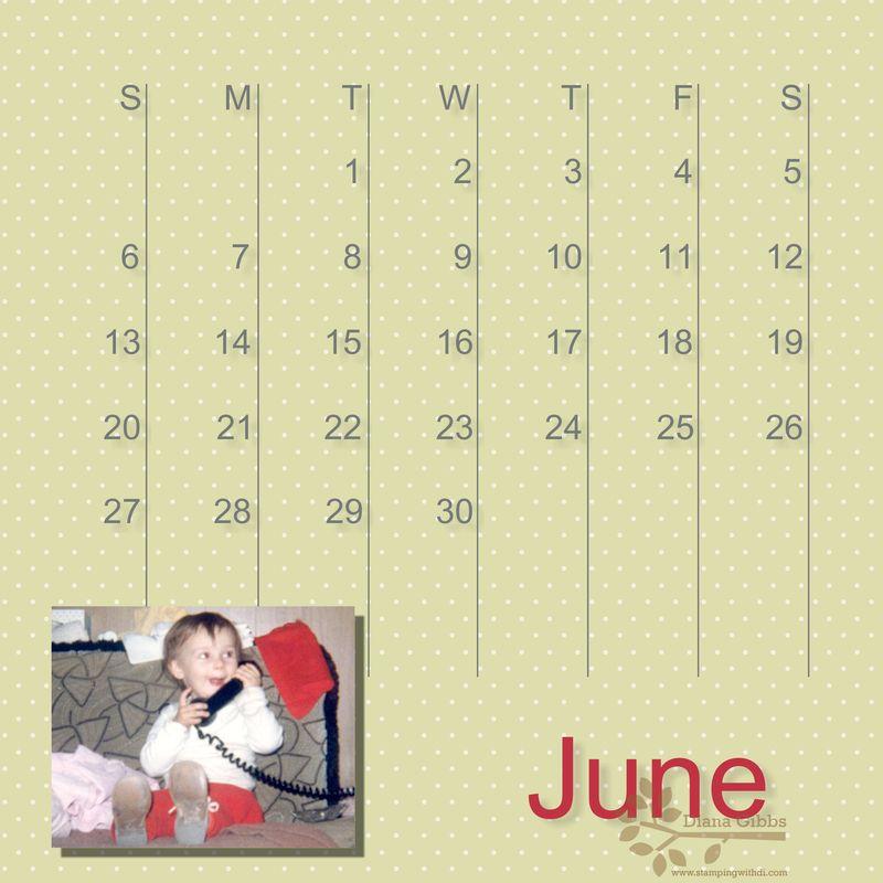 June 2010 month