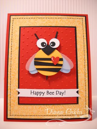 Happy Bee Day Front
