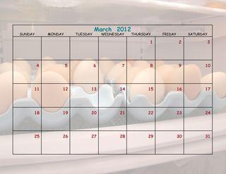 Chicken Calendar 8 x 11-007