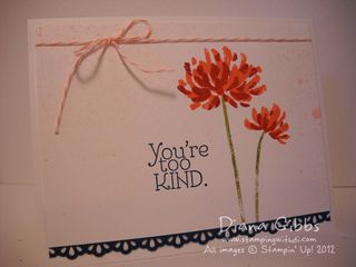 you re very kind