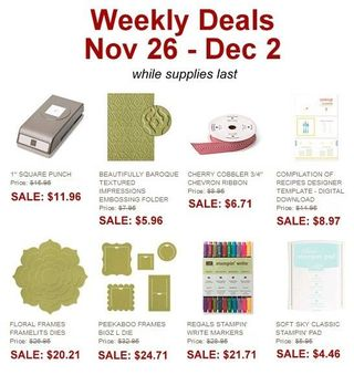 Weekly Deal Nov 26