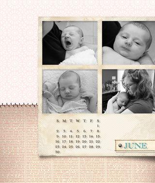 2013 Calendar for Desk-013