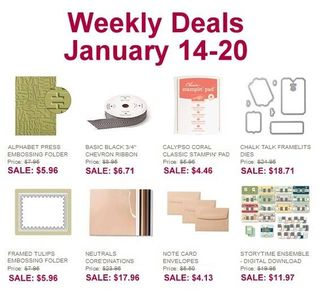 Weekly deals jan 14