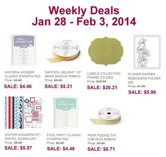 Weekly Deal - Jan 28