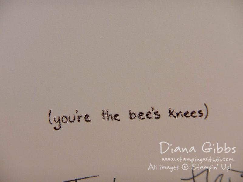 Bee's Knees Greeting