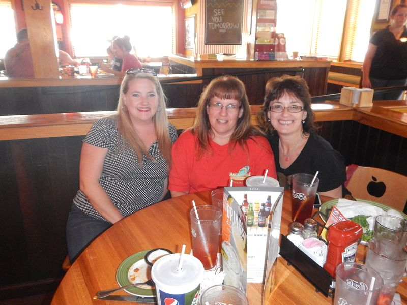 Lunch time with Tanya and Sherri
