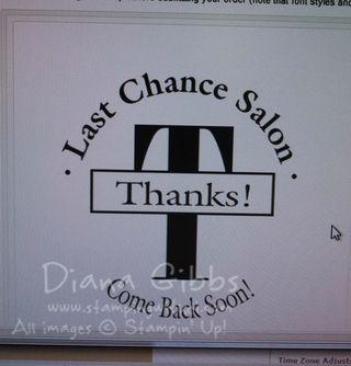 Last Chance Salon