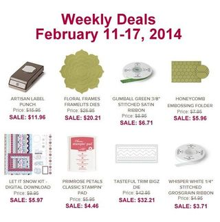 Weekly deal feb 11
