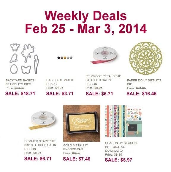 Weekly deal feb 25