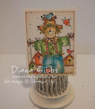 Mini Masterpiece March 2014 Seasonal Birdhouses Diana Gibbs