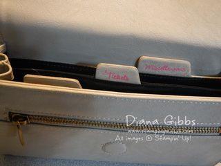 Travel Wallet Tabs