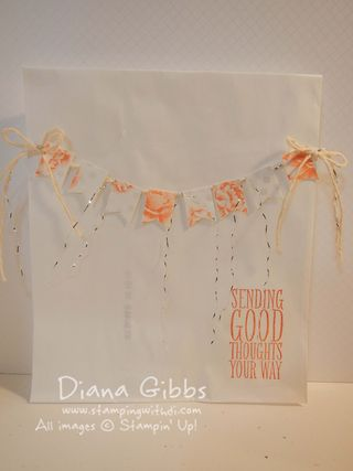 Spring Fling Watercolor Note Cards Bag full
