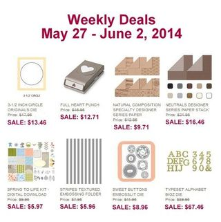 Weekly deal May 27