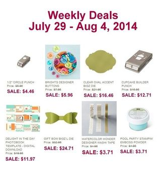 Weekly deal july 29