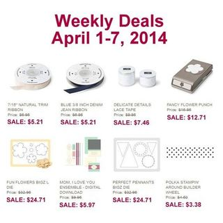 Weekly deal april 1