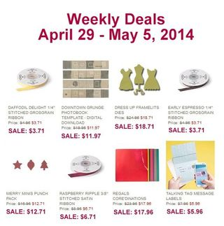 Weekly deal April 29