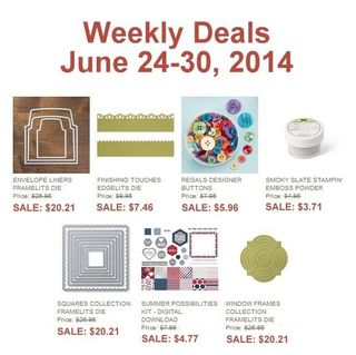 Weekly deal 6 24