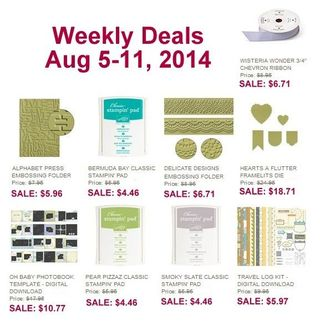 Weekly deals aug 5
