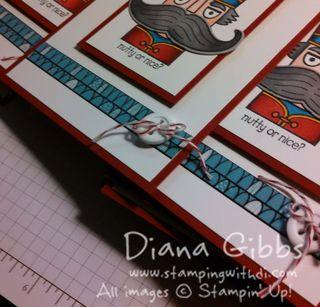 Santa Stache Card tease