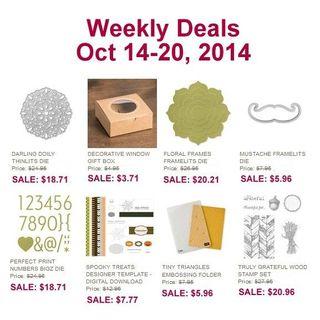 Weekly deals 10 14