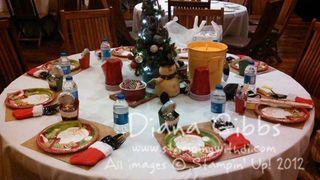 Christmas Angels Table Decor