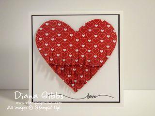 Fringe Heart Diana Gibbs Stampin' Up! full