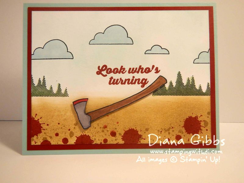 The Walking Dead Diana Gibbs Stampin' Up! Close