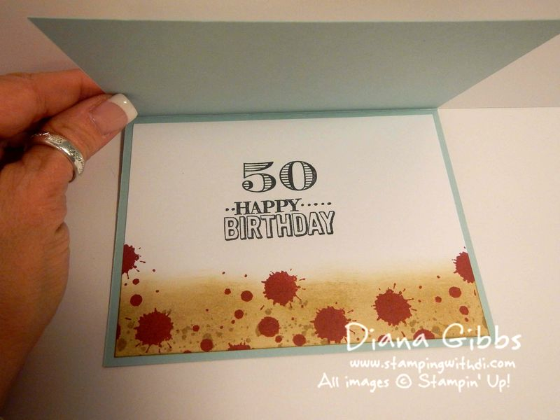 The Walking Dead Diana Gibbs Stampin' Up! Memorable Moments