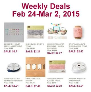 Weekly deal 2 24 2015