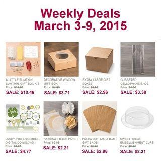 Weekly deal 3 3 2015