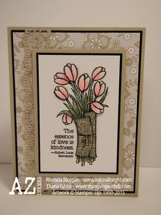 Love is Kindness Diana Gibbs Stampin' Up!