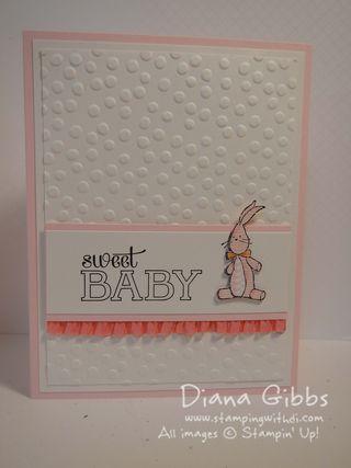 Baby We've Grown Diana Gibbs Stampin' Up!