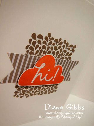 I Think You're Great Diana Gibbs Stampin' Up!