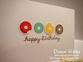 Sprinkles on Top Diana Gibbs Stampin' Up!