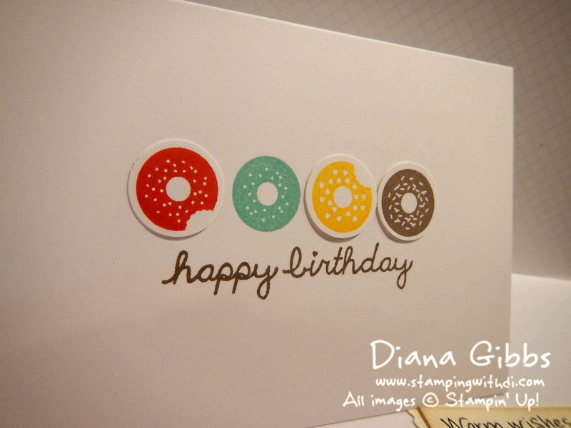 Sprinkles on Top Diana Gibbs Stampin' Up!