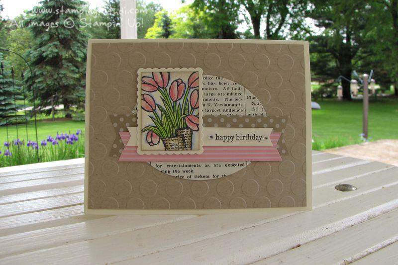 Love is Kindness Birthday Mini Masterpiece by Cristie D.
