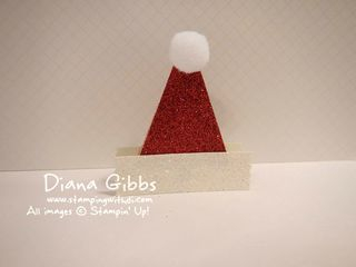 Fun with Punches Diana Gibbs Santa Hat