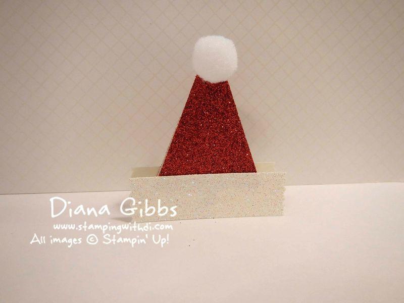 Fun with Punches Diana Gibbs Santa Hat