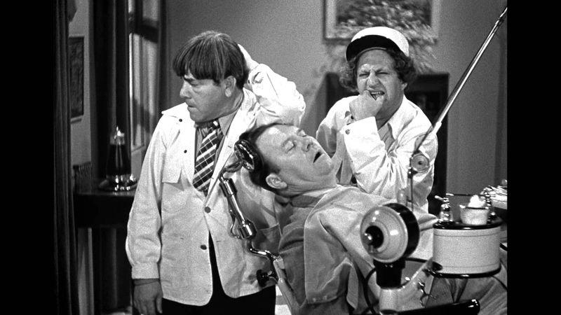 Three stooges dentist