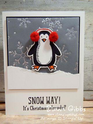 Snow Play Snow Friends Diana Gibbs Stampin' Up!