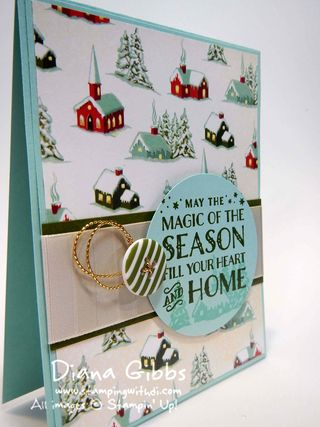 Cozy Christmas Diana Gibbs Stampin' Up!