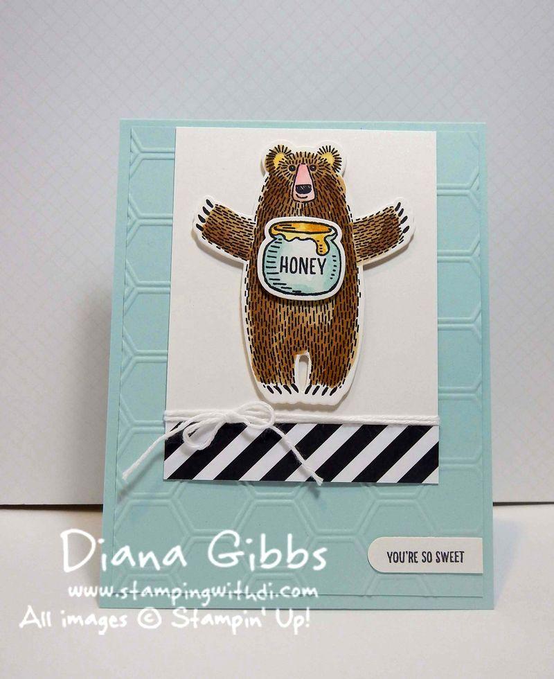 Class in the Mail January Bear Hugs Diana Gibbs