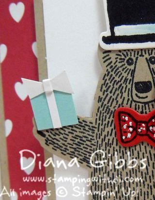 Bear Hugs Tiffany Box Diana Stampin' Up!