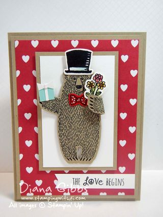 Bear Hugs Diana Gibbs Tiffany Stampin' Up!