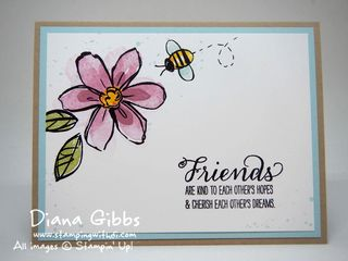 Garden in Bloom Stampin' Up! Diana Gibbs