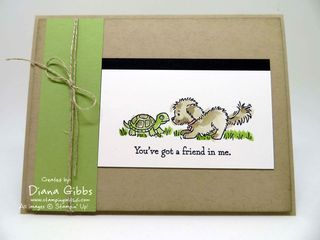 Bella & Friends Diana Gibbs Stampin' Up! Angie Juda case
