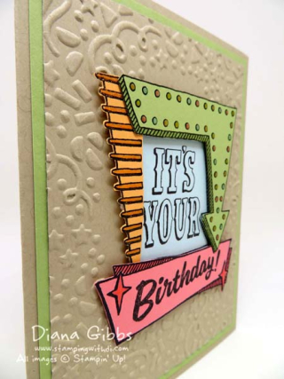 Marquee Messages Stampin' Up! Diana Gibbs