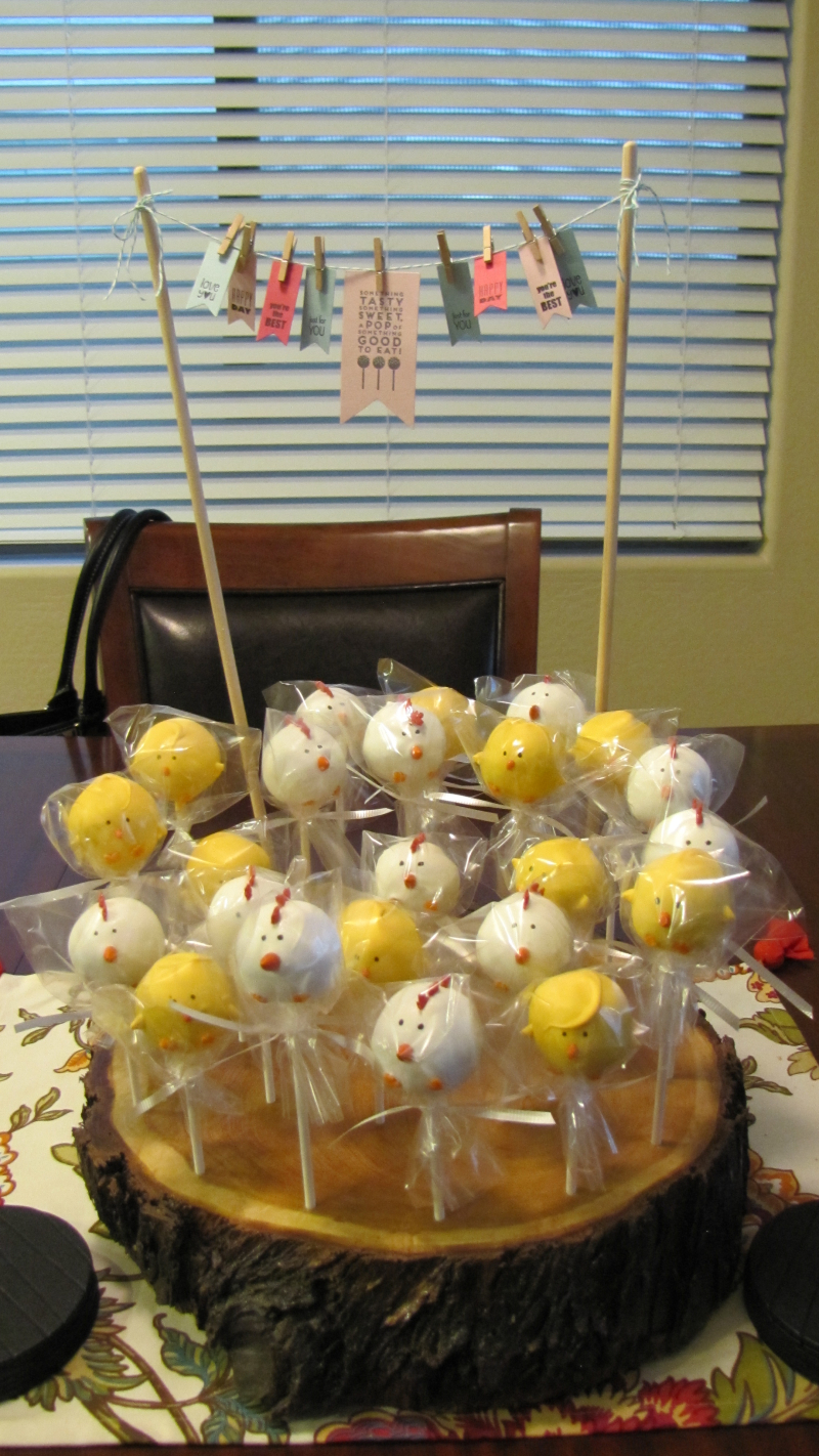 Cake Pop Balls for Country INKers Retreat 2016